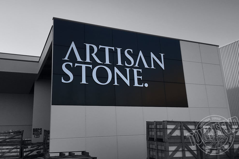 Artisan Stone 3d Fabricated Signs