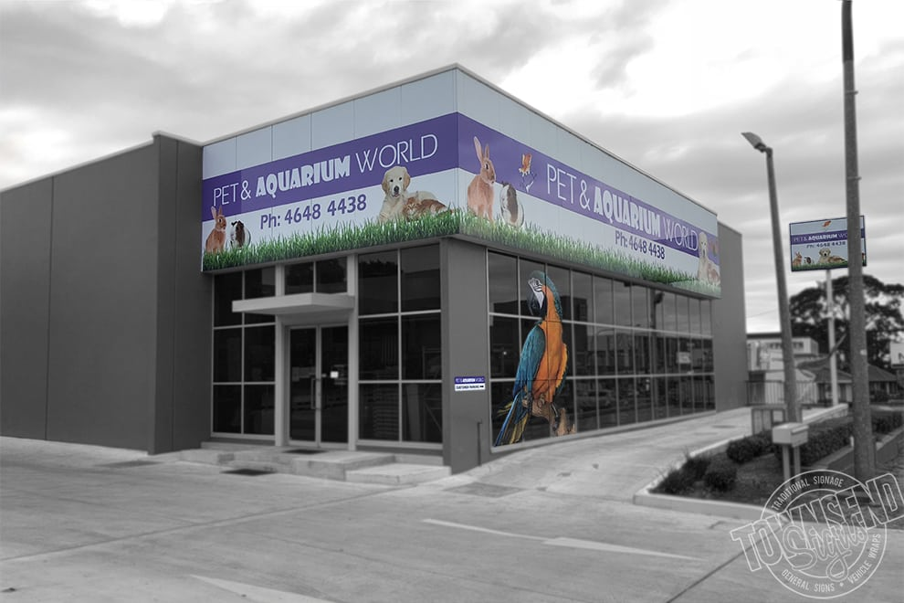Townsend Signs Pet Aquarium World